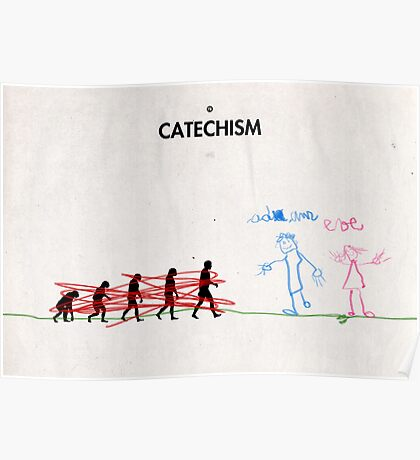 99 Steps of Progress - Catechism Poster