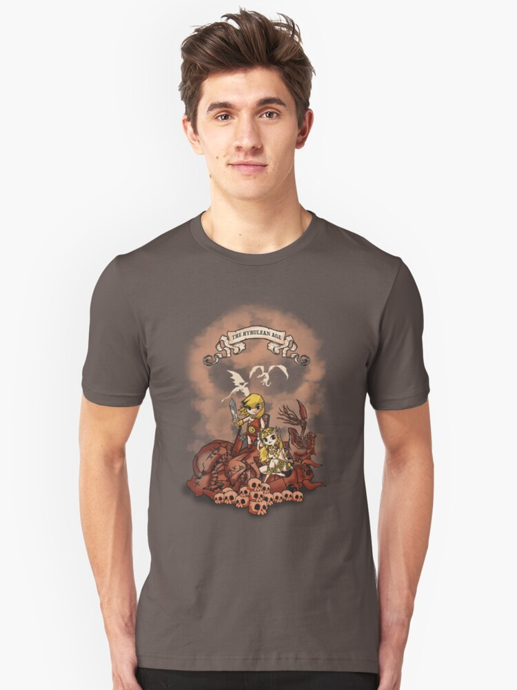 The Hyrulean Age Unisex T-Shirt Front