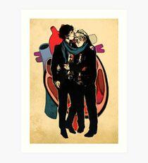 Sherlock: HEART and mind Art Print
