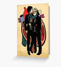 Sherlock: HEART and mind Greeting Card