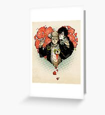 Sherlock: The Reichenbach Fall Greeting Card