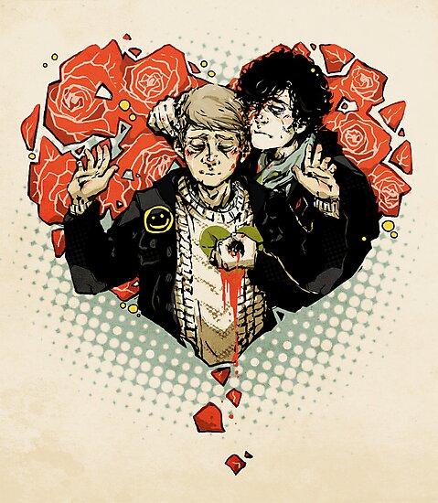 Sherlock: The Reichenbach Fall by sweetlitlekitty