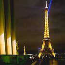Eiffel Tower from Trocadero (1) by David Mapletoft