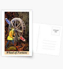 WHEEL OF FORTUNE Postcards