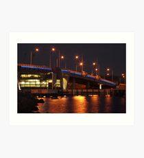Port Bridge Art Print