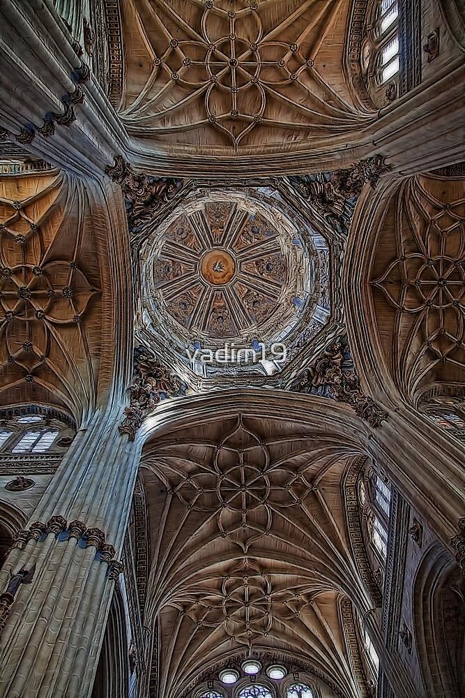 Spain. Salamanca. New Cathedral. Vaults. by vadim19