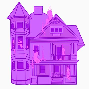 Ghost House by kinkajou