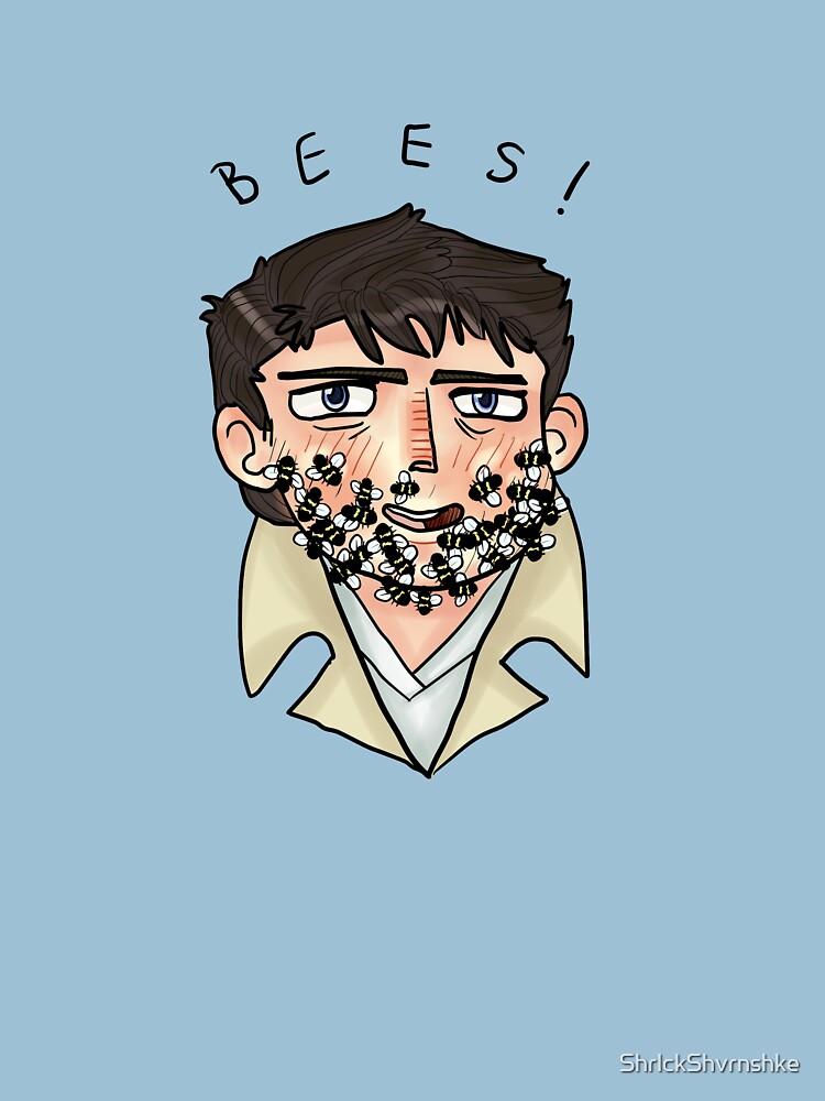 Crazy!Cas- Bees! by ShrlckShvrnshke