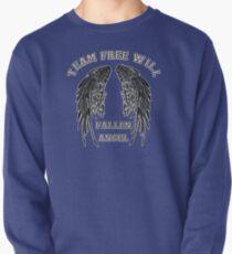 Team Free-Will: Fallen Angel (wing version) Pullover