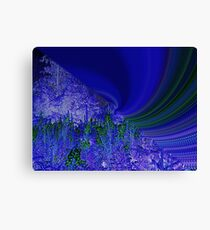Abstract Tsunami Canvas Print