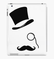 Mr. Monocle iPad Case/Skin