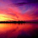 Sunset on Moreton Bay by Extraordinary Light
