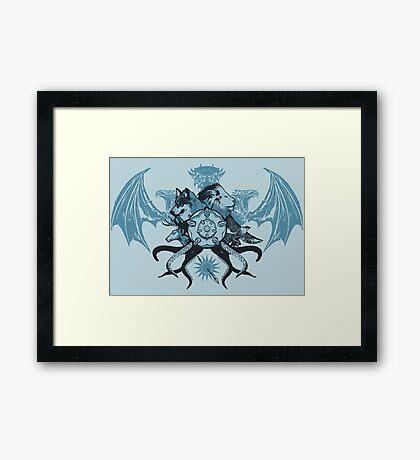 What is Thy Last Name, Ser? Framed Print