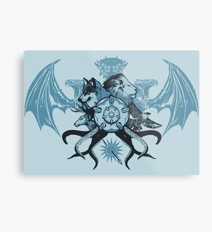 What is Thy Last Name, Ser? Metal Print