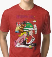 Mushroom Girl Tri-blend T-Shirt
