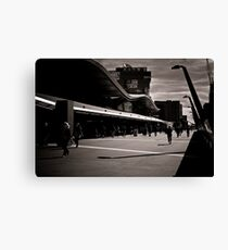 The commuters Canvas Print