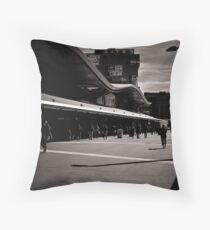 The commuters Throw Pillow