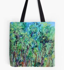 Whirlwoods acrylic on canvas Tote Bag