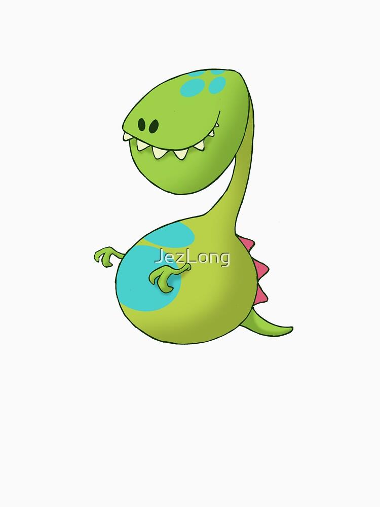 Dinosaur ~ Green by JezLong