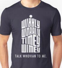 Talk Whovian To Me Slim Fit T-Shirt