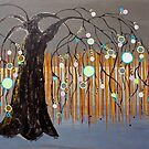 :: Willow Sunset :: by Gale Storm Artworks