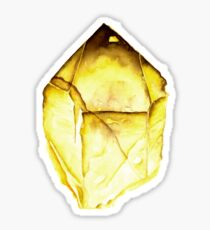 Watercolor Citrine – November Birthstone Sticker