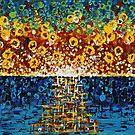 :: Confetti Sunrise :: by Gale Storm Artworks