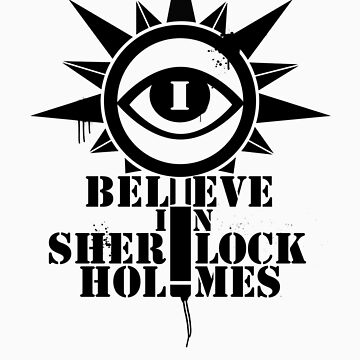 Believe in Sherlock: eye logo by ADarkly