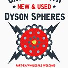 New & Used Dyson Spheres! by GroatsworthTees