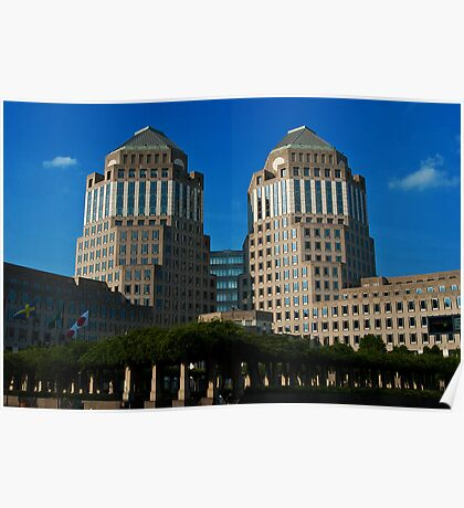Procter & Gamble Building Poster