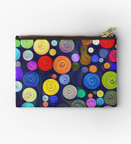 #DeepDream Color Circles Visual Areas 5x5K v1448448724 Zipper Pouch