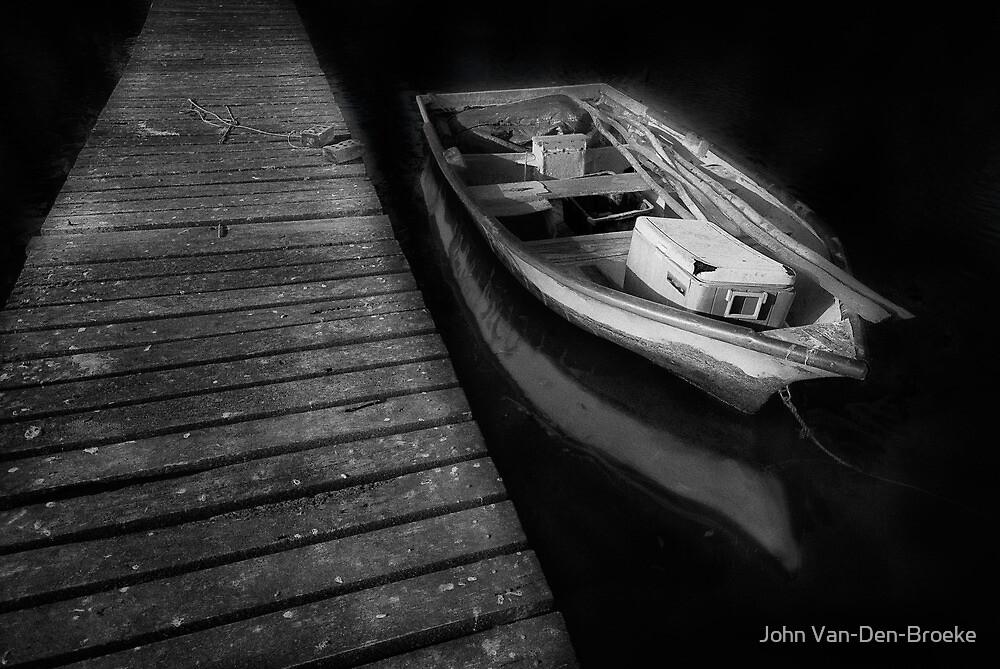 The Boat by John Van-Den-Broeke