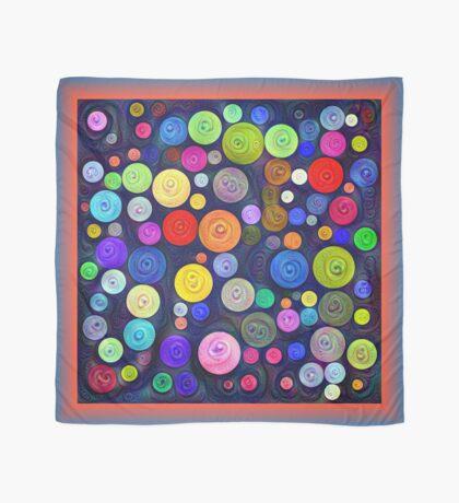 #DeepDream Color Circles Visual Areas 5x5K v1448448724 Scarf