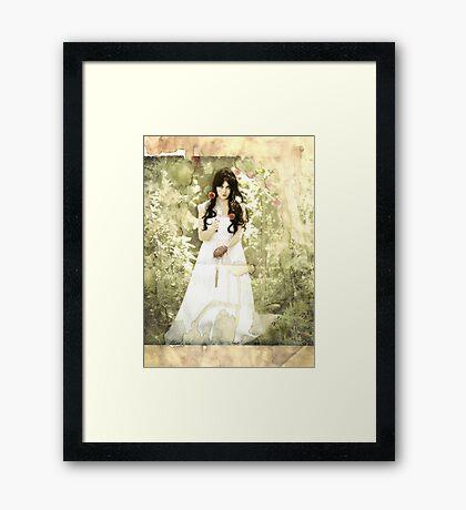 Snow White (modern influence) Framed Print