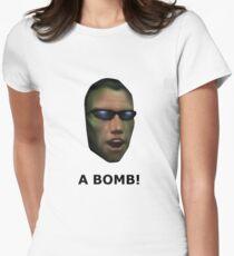 Deus Ex: A Bomb! Women's Fitted T-Shirt