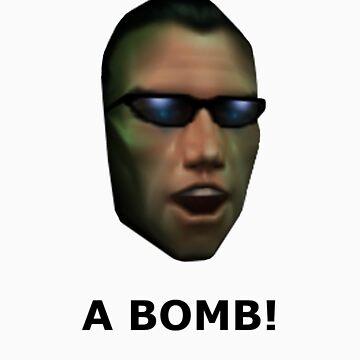 Deus Ex: A Bomb! by captainirony