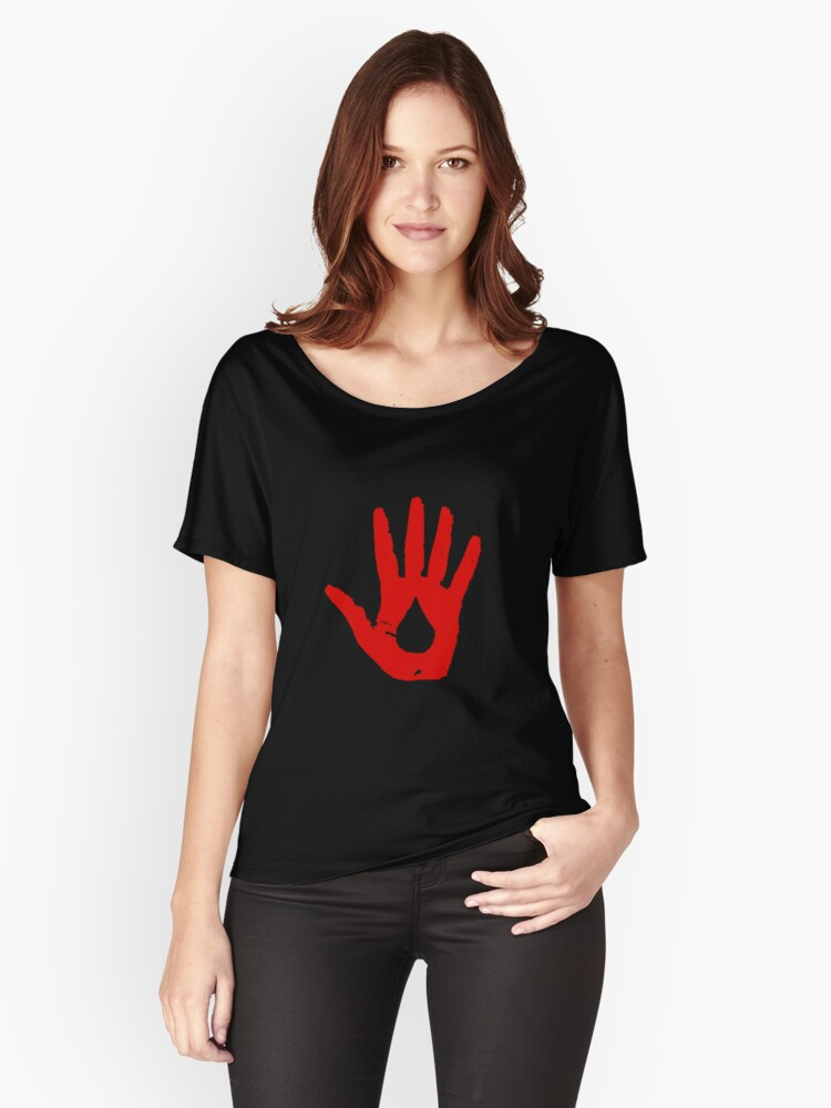 blood magic??? Women's Relaxed Fit T-Shirt Front