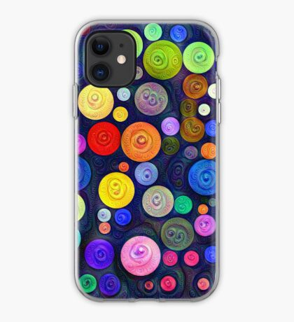 #DeepDream Color Circles Visual Areas 5x5K v1448448724 iPhone Case