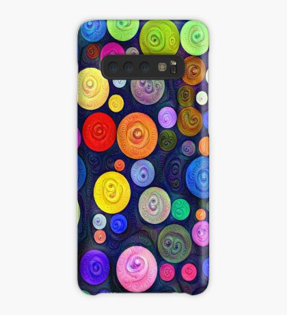 #DeepDream Color Circles Visual Areas 5x5K v1448448724 Case/Skin for Samsung Galaxy