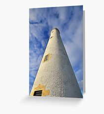 Barns Ness Lighthouse Tower Greeting Card