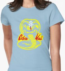Cobra Kai - The Karate Kid Womens Fitted T-Shirt