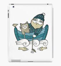 The Fisherman's Cat (Tee) iPad Case/Skin