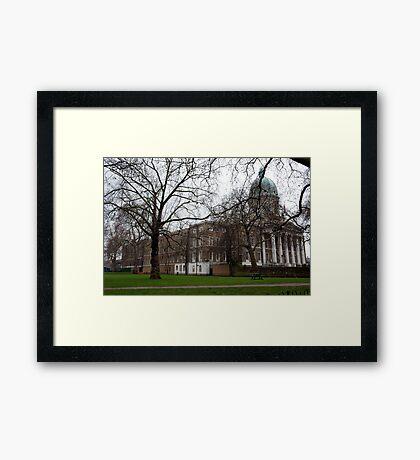 imperial war museum Framed Print