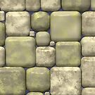 Smooth Square Tiles by pjwuebker