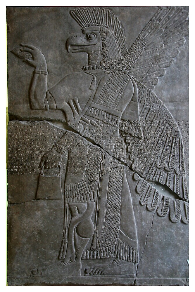 The Assyrian God Ashur, Pergamon Museum, Berlin by docnaus
