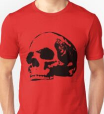 human skull  T-Shirt