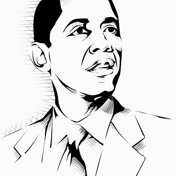 Barack Obama by daveyt