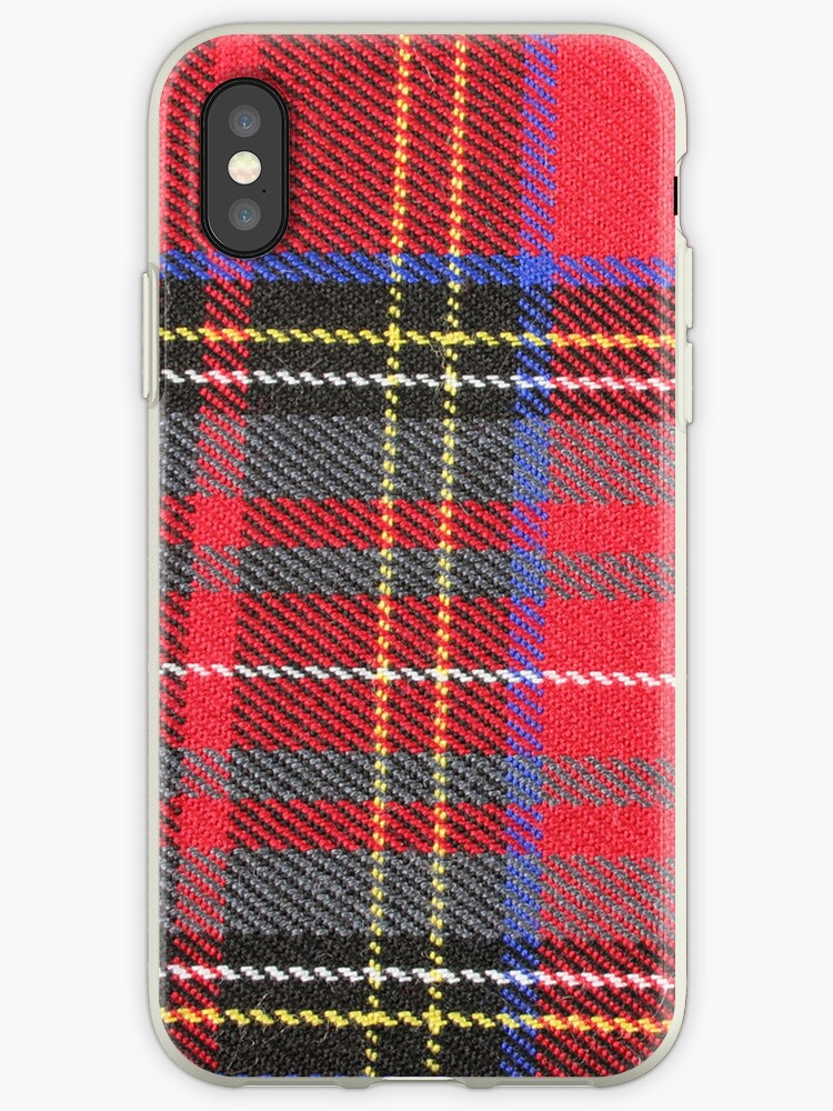 Red and Yellow Plaid by pjwuebker