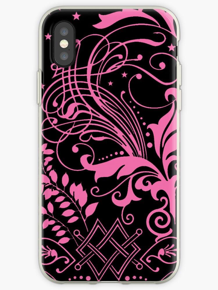 Pink Swirls by pjwuebker