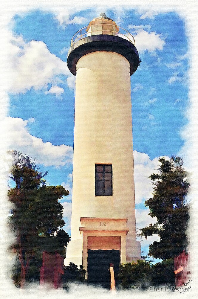Rincon's Lighthouse by Charlie Roman